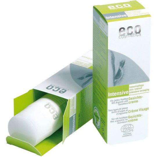 Eco Cosmetics Intensive Ansiktskräm Arganolja & Havtorn, 50 ml