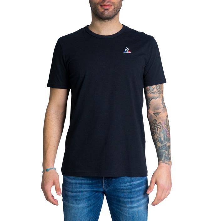 Le Coq Sportif Men's T-Shirt Black 243006 - black L