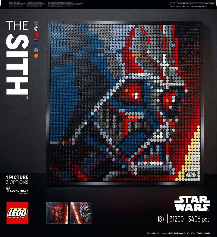LEGO ART 31200 Star Wars The Sith