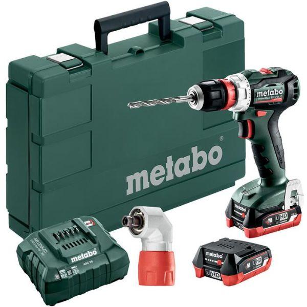 Metabo POWERMAXX BS 12 BL Q Borskrutrekker med batterier og lader