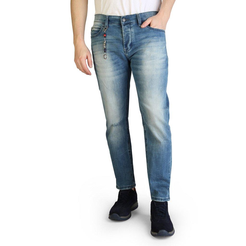 Yes Zee Men's Jeans Blue P611_P613 - blue 40