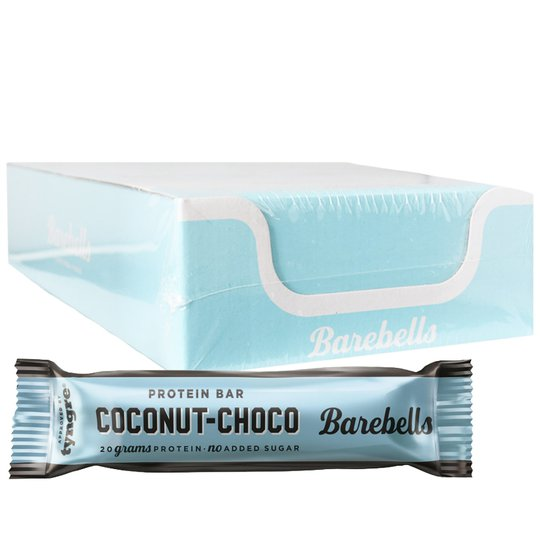 Proteiinipatukat Coconut Choco 12kpl - 32% alennus