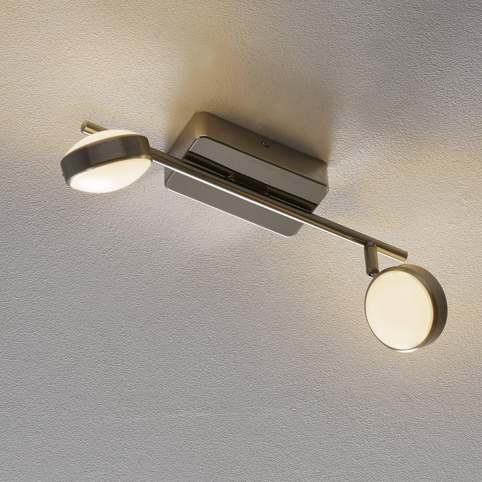 EGLO connect Corropoli-C-LED-kattospotti 2-lamp.