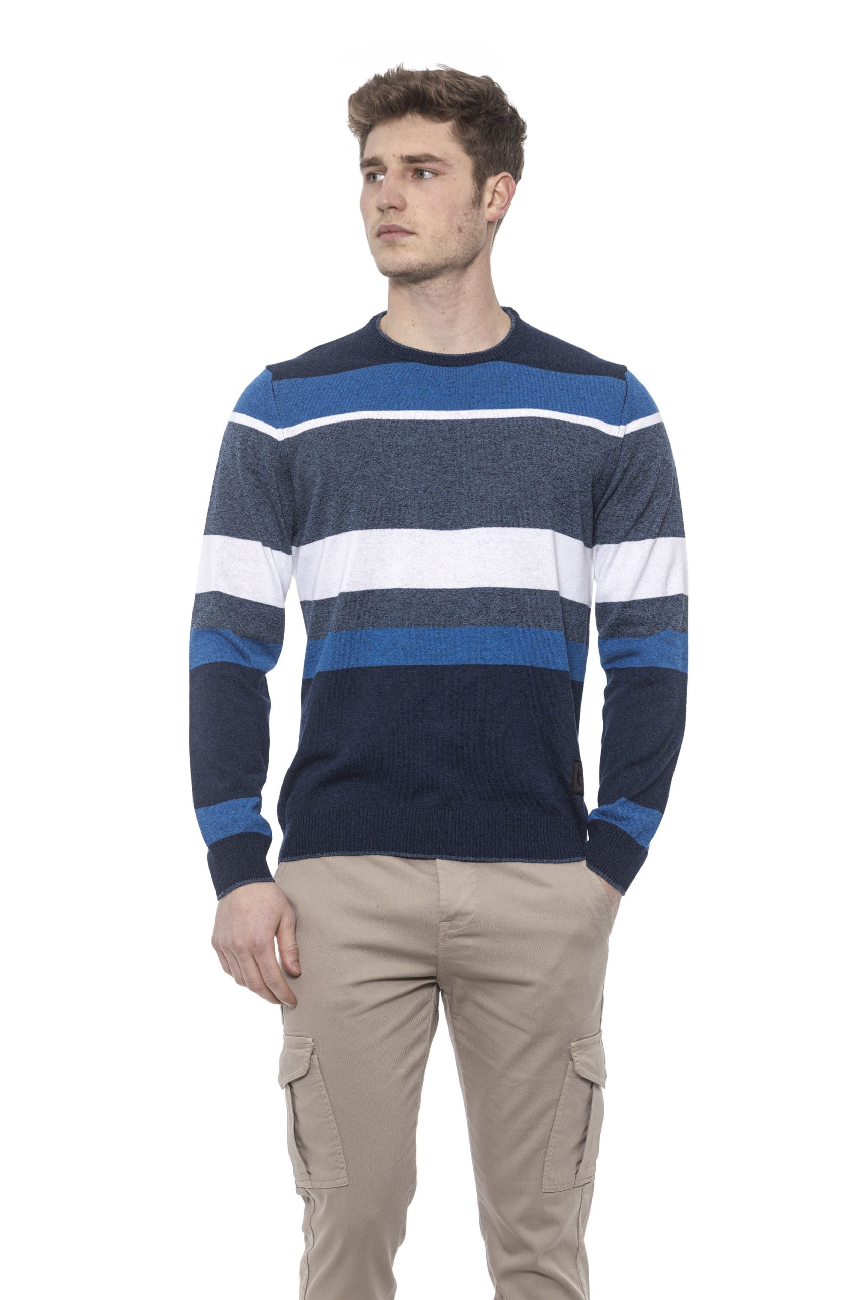 Conte of Florence Men's Sweater Blue CO1378090 - S
