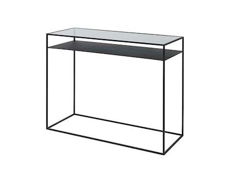 Kamille Bord Stål/Glass