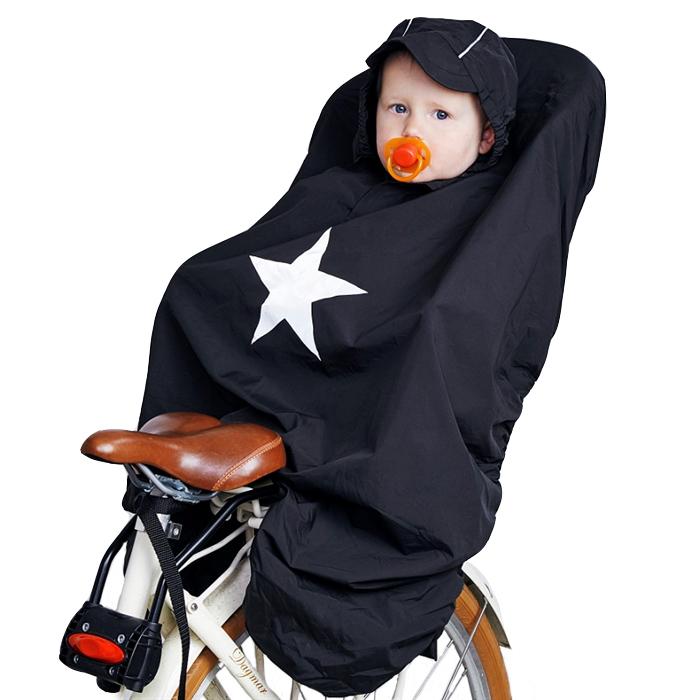 Babytrold - Raincover for Bicycle Seat