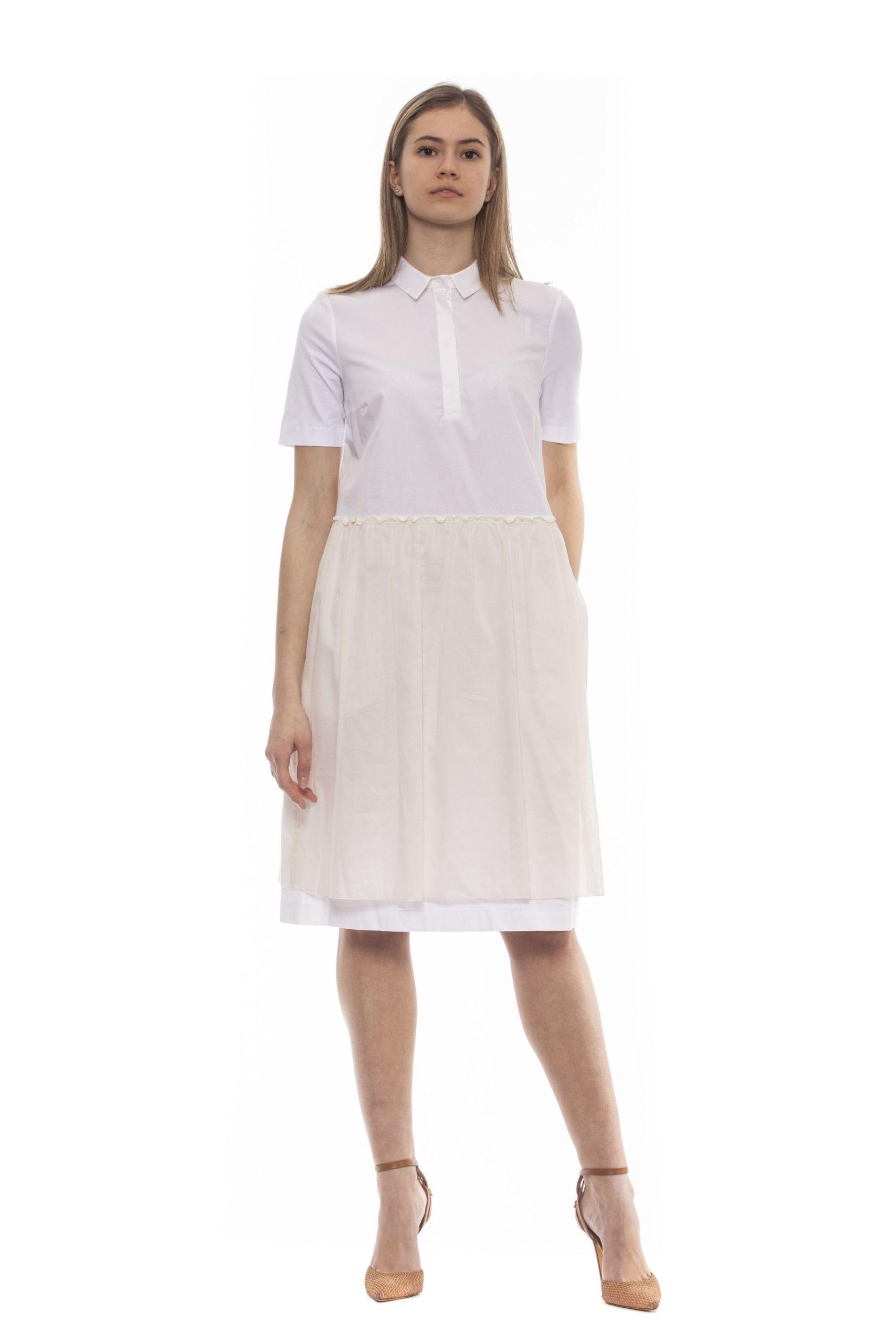 Peserico Women's Dress Beige PE1383252 - IT42   S