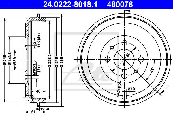 Jarrurumpu ATE 24.0222-8018.1