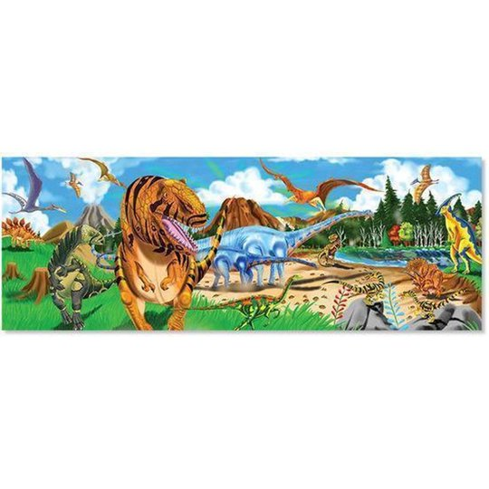 Melissa & Doug Puslespill Dinosaurlandet 48 Biter