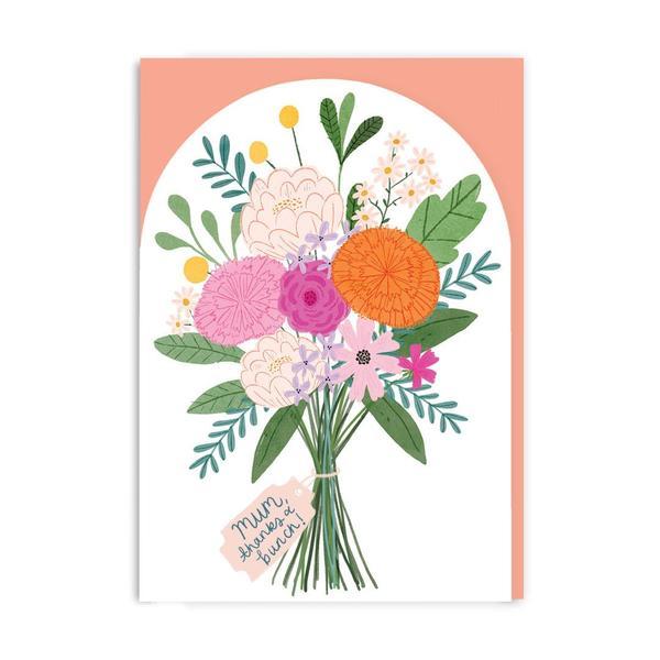 Mum Bouquet Greeting Card