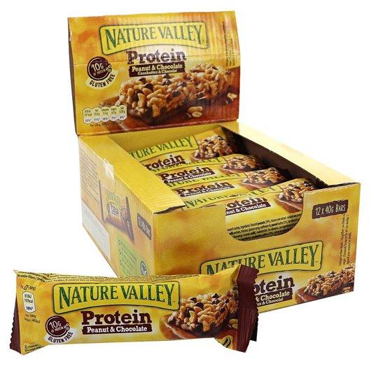 Proteinbars Peanut & Chocolate 12-pack - 34% rabatt