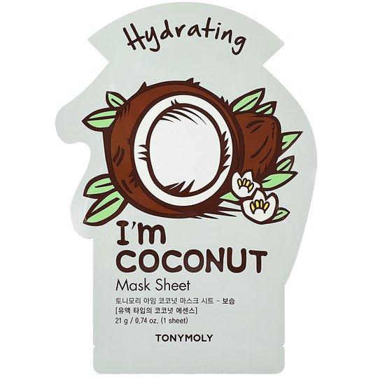 I´m Coconut Mask Sheet, 21 ml Tonymoly Kangasnaamiot
