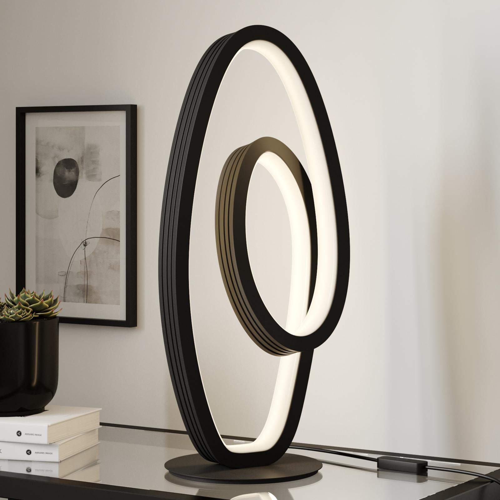 Lucande Bronwyn -LED-pöytävalaisin