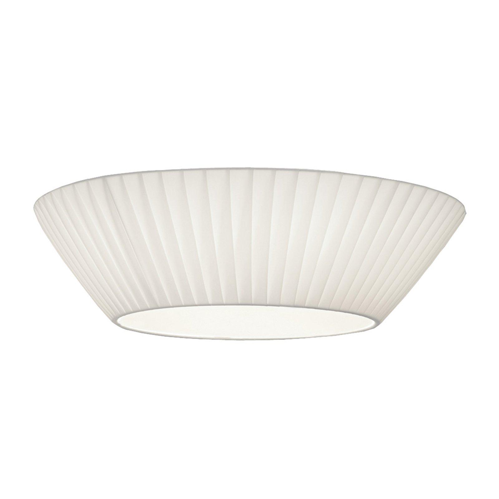 Enkel Emma taklampe i hvitt Ø 50 cm