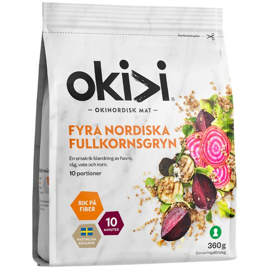 Fullkorn Nordiska - 50% rabatt