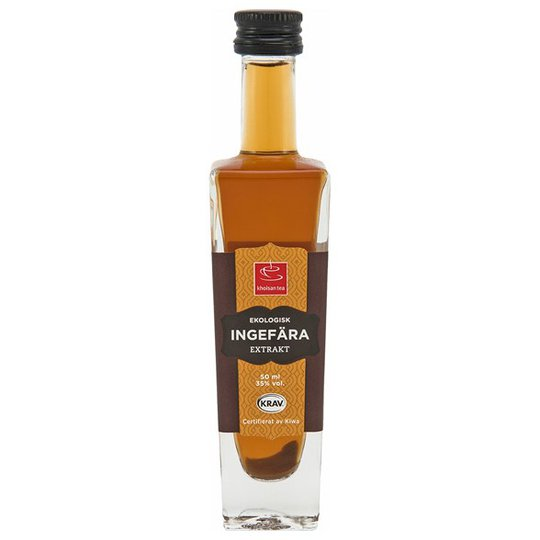 Khoisan Tea Ekologiskt Ingefäraextrakt, 50 ml