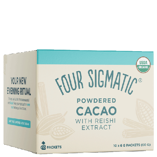 Powdered Cacao With Reishi Extract, 10 paket