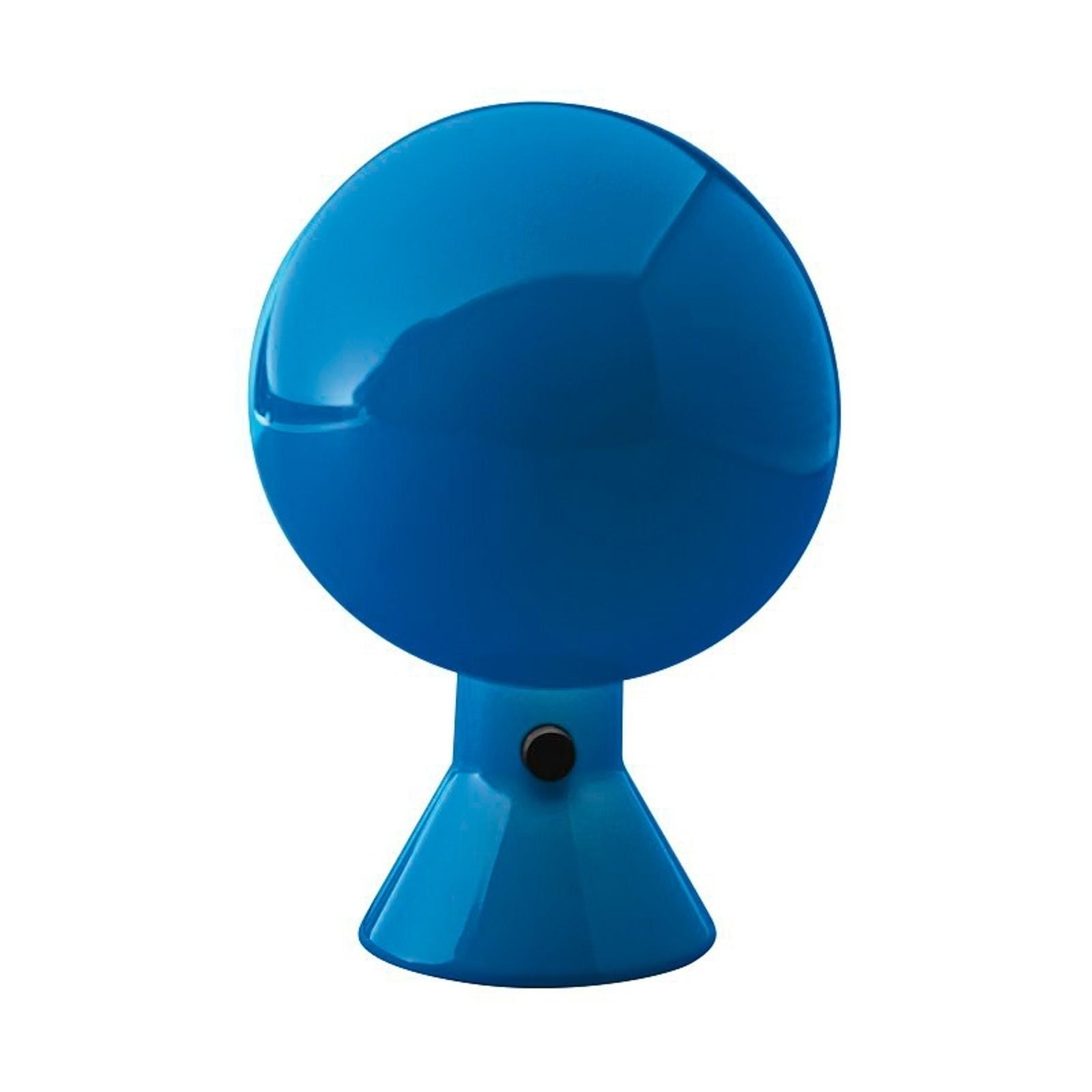 Martinelli Luce Elmetto -pöytävalaisin, sininen