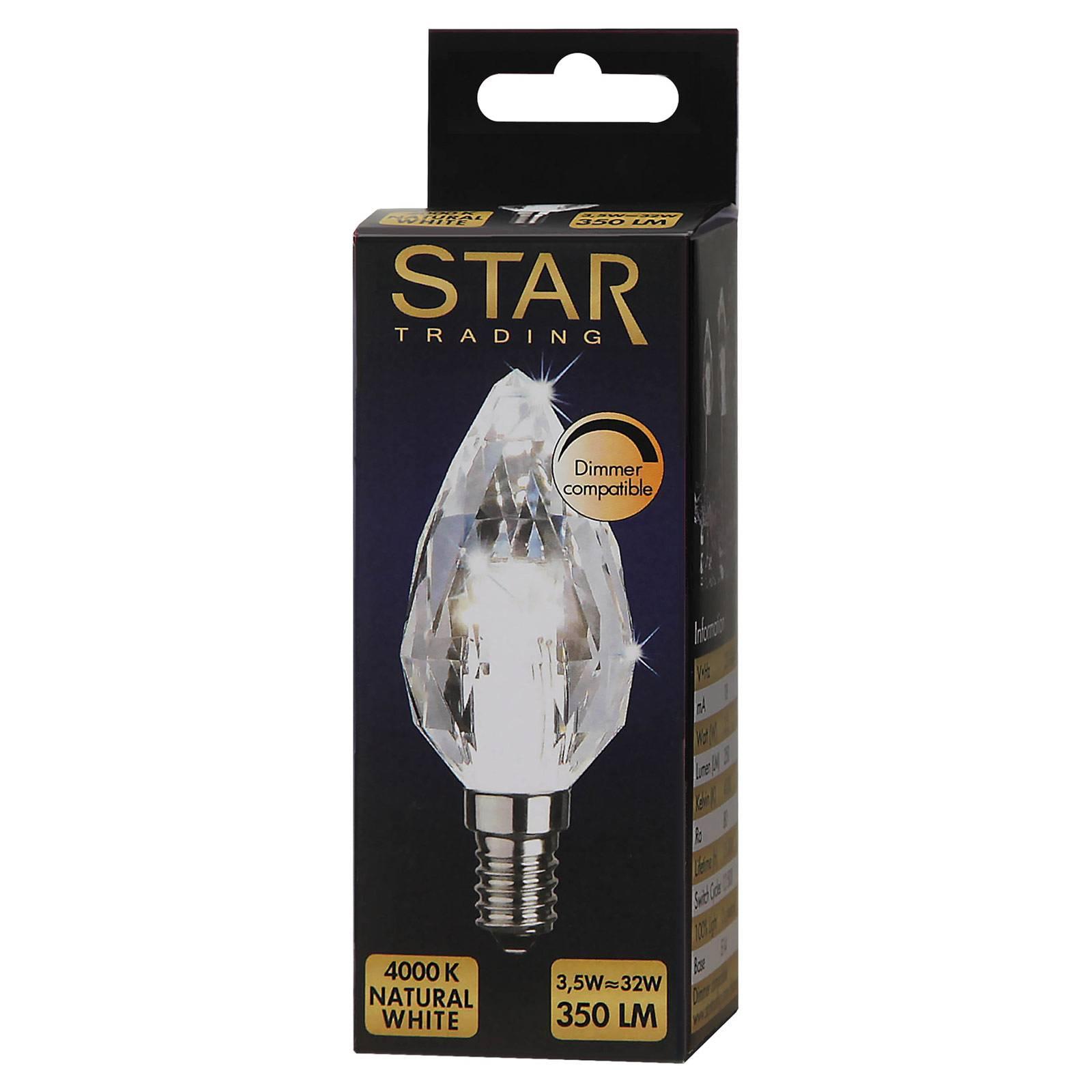 E14 4W 840 LED-kynttilälamppu