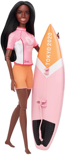 Barbie Olympics Dukke Surfer