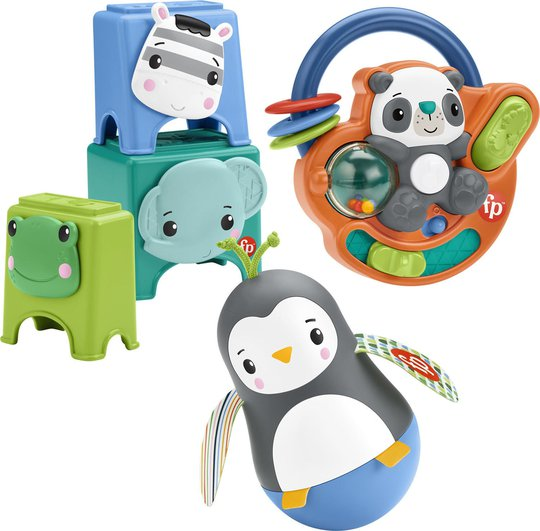Fisher-Price Play Kit 6M+ Hello Hands