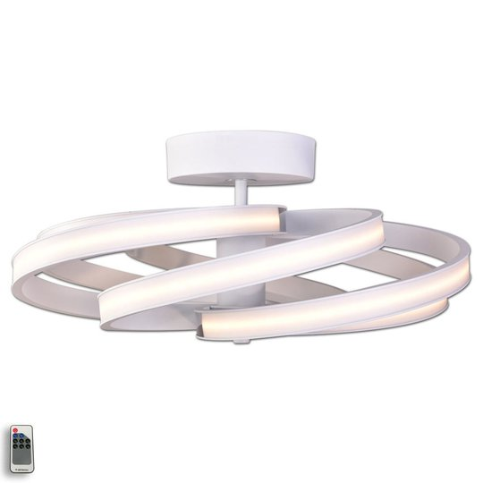 Zoya - moderni LED-kattolamppu, valkoinen