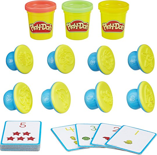Play-Doh Shape And Learn Tall Og Regning