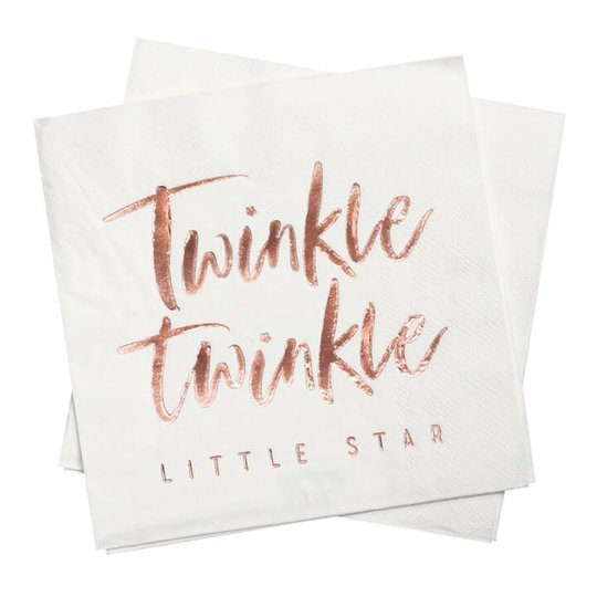 Servetter Twinkle Winkle - 16-pack