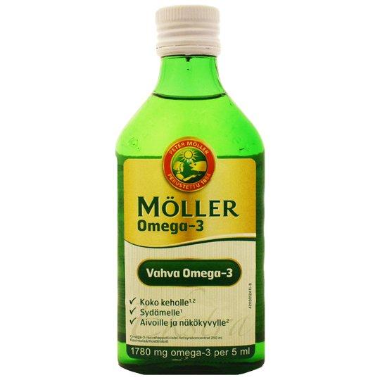 """Kalaöljy """"Omega-3"""" 250ml - 64% alennus"""