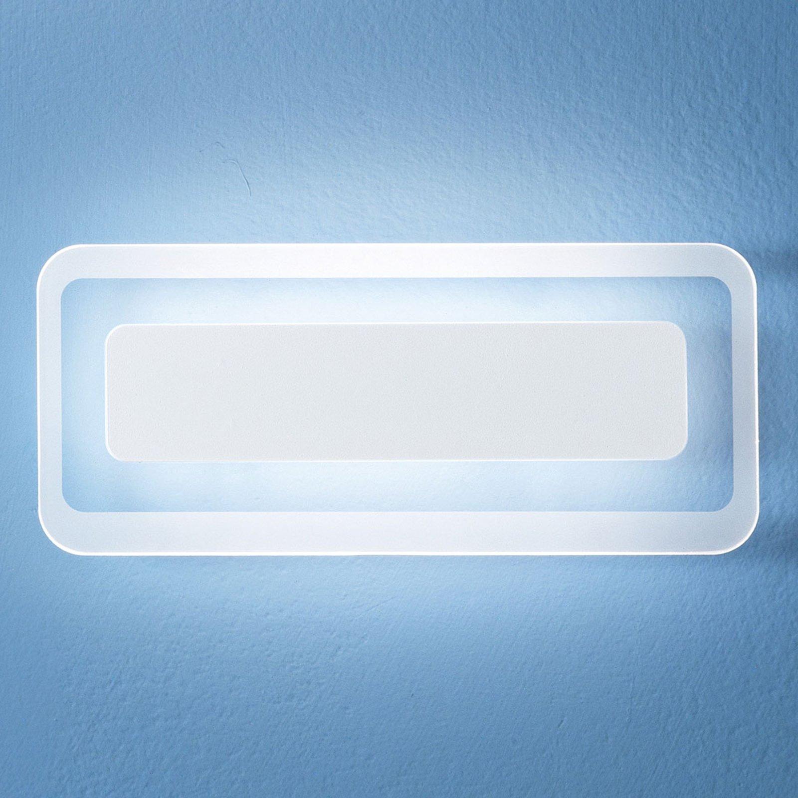Antille LED-vegglampe hvit 31,4 cm