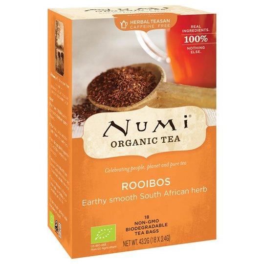 Numi Organic Tea Rooibos, 18 påsar