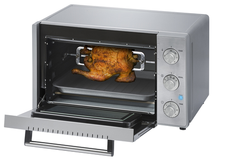Steba Kb23eco Oven Steel 23l Silver 1400 Watt Miniugn -