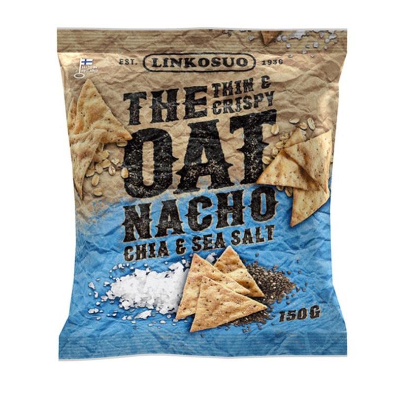 Kauranachot Chia & Sea Salt - 23% alennus