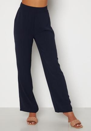 Happy Holly Alma wide pants Dark blue 52/54