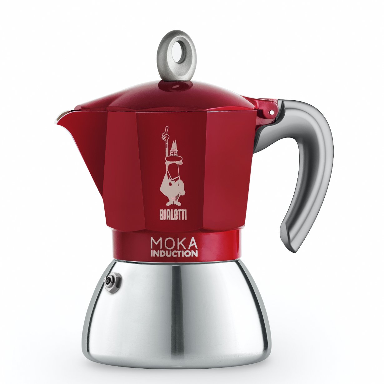 Bialetti - Moka Induction Edition 2.0 - 6 Cups - Red (6946)