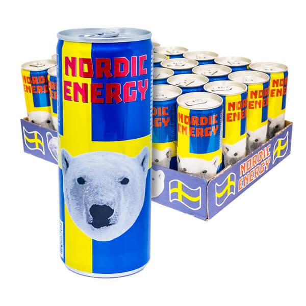 Nordic Energy 25 cl x 24 st