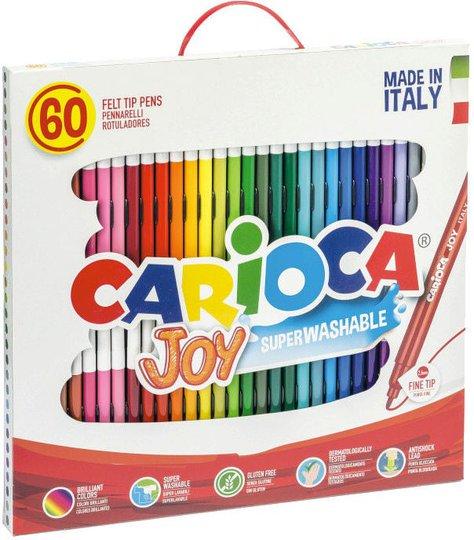 Carioca Filtpenner, 60 stk