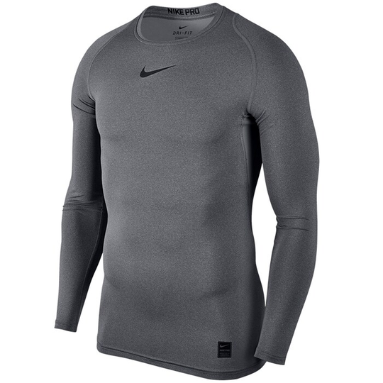 Nike Pro Comp Top L/S, Grey