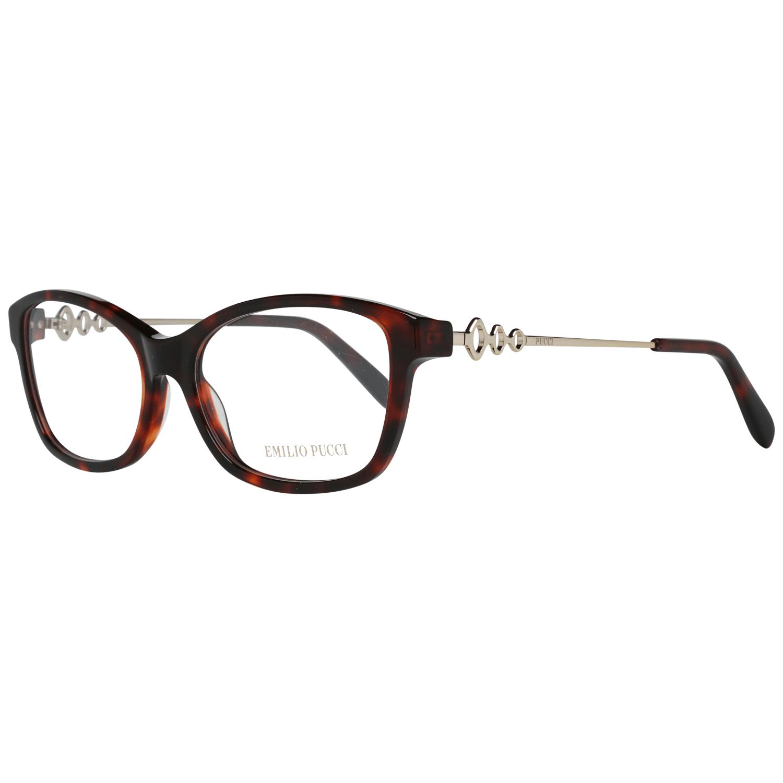 Emilio Pucci Women's Optical Frames Eyewear Brown EP5042 53054