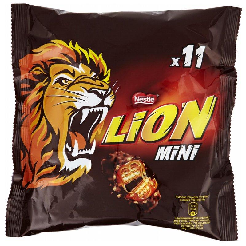 """Godis """"Lion Mini"""" 198g - 25% rabatt"""