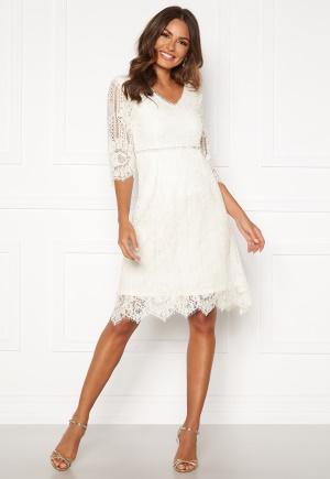 Happy Holly Jenna lace dress White 36