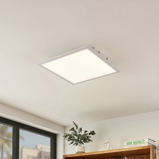 Lindby Luay -LED-paneeli, 3 000–6 000 K, 40x40 cm