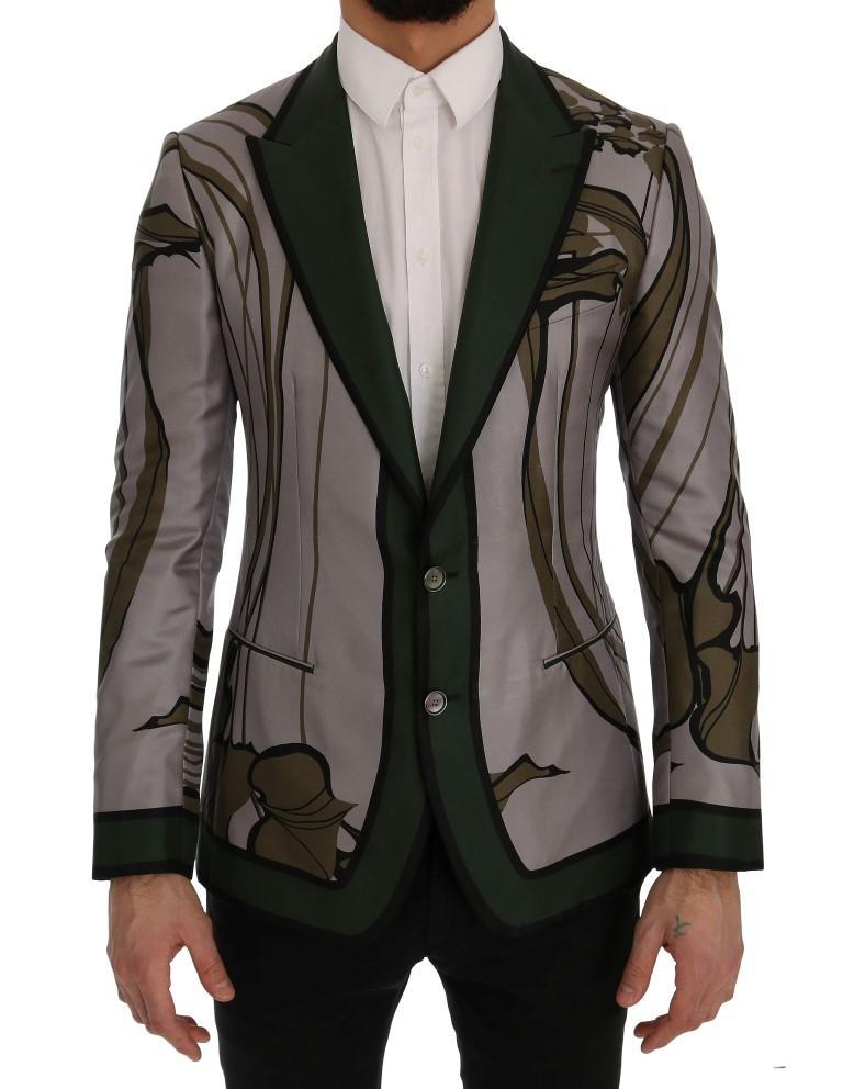 Dolce & Gabbana Men's Floral Slim Fit Blazer Multicolor SIG60257 - IT44 | XS