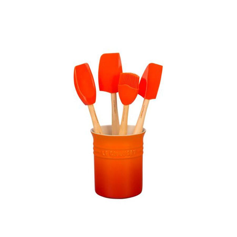 Sett M/ 4 Craft Redskaper I Redskapkrukke 1,1 L Vo