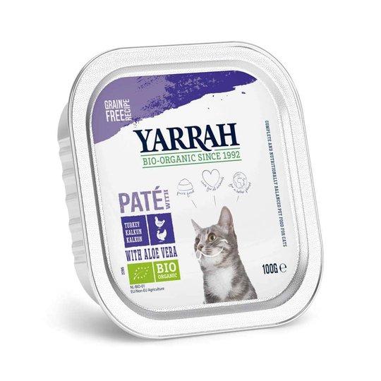 Yarrah Organic Cat Chicken & Turkey Paté Grain Free