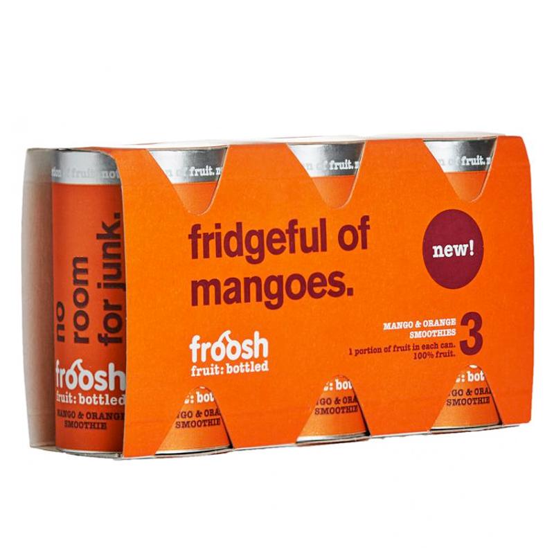 Smoothie Mango & Apelsin 3 x 150ml - 28% rabatt