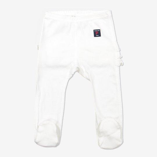 Bukse med volang baby hvit