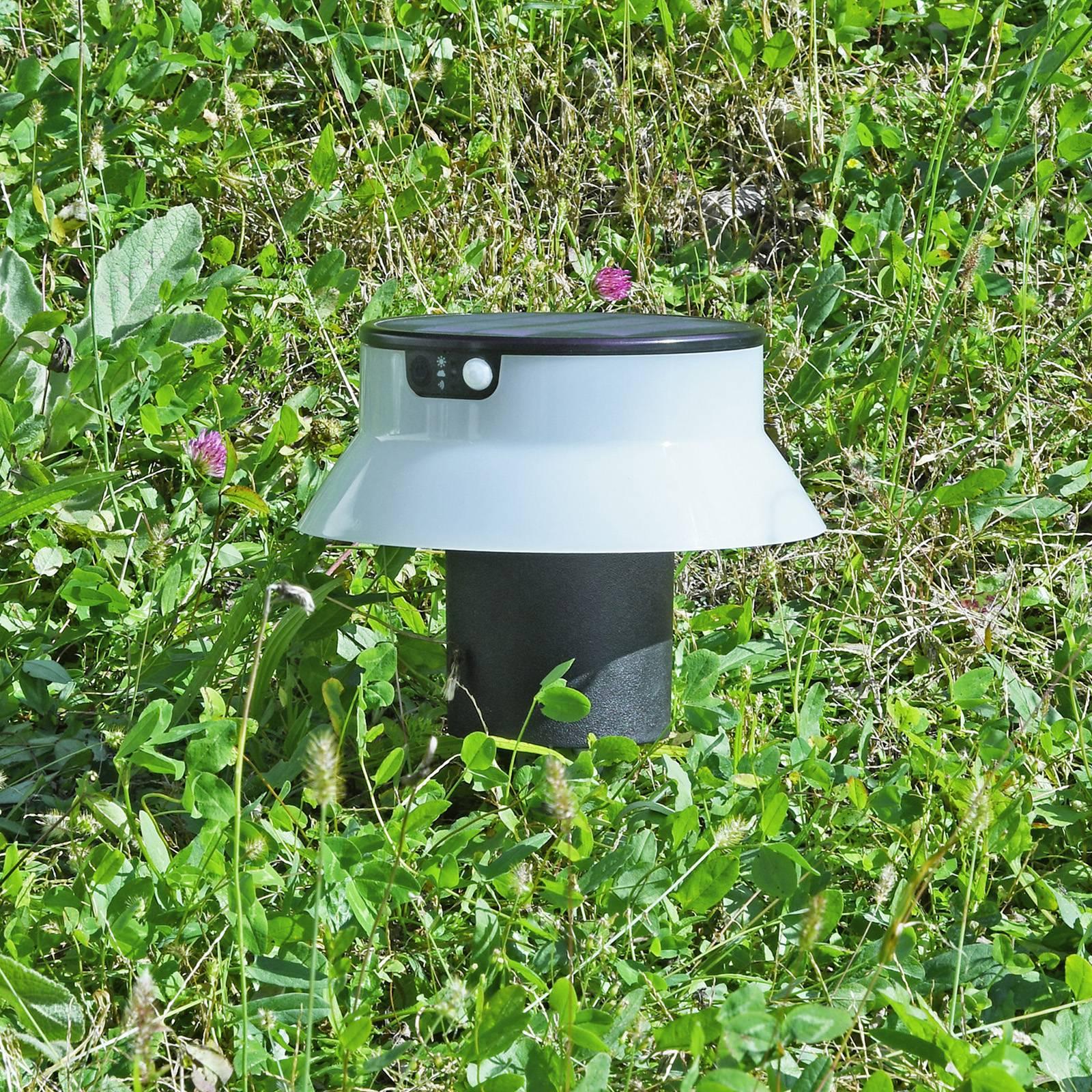 Aurinkokäyttöinen LED-lamppu Felice CCT, maapiikki