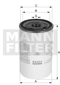 Suodatin, paineilma MANN-FILTER LB 950/20