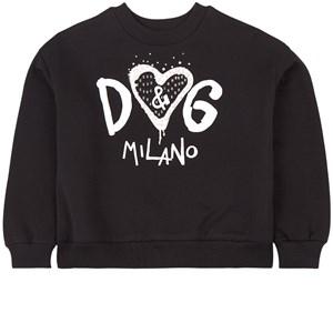 Dolce & Gabbana Heart Logo Sweatshirt Svart 4 år